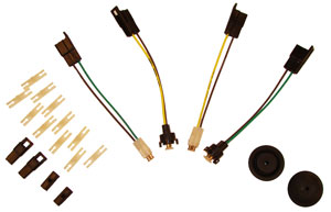 1968-1972 El Camino & Chevelle station wagon Add-on Wiring Kit
