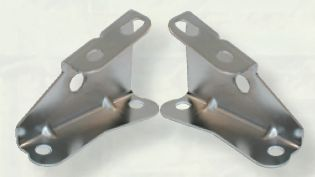 1964-1972 Booster Brackets - Stainless Steel