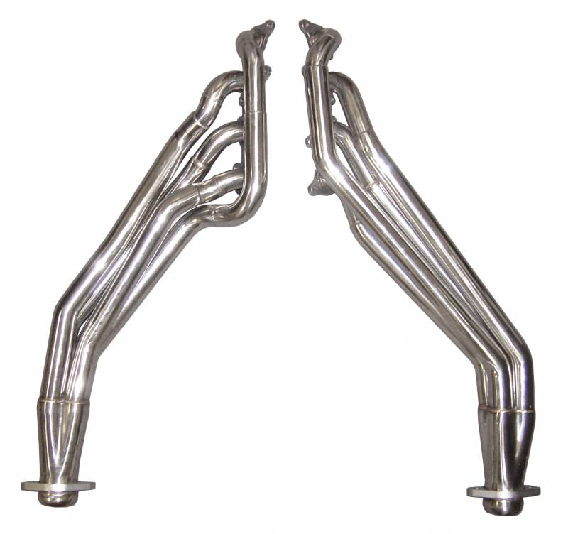Exhaust Header Long Tube 15-17 Mustang Hardware Included Polished 304 Stainless Steel Header Pypes Exhaust