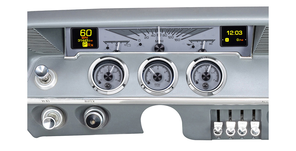 1961-62 Chevy Impala HDX System, Silver Face