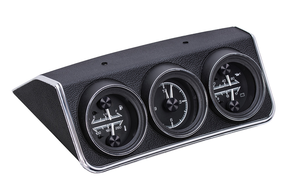 1967 Chevy Camaro w/Console Gauges HDX System, Black Face