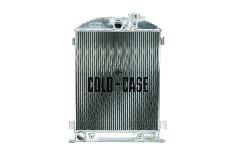 1932 Highboy Ford Engine 25.5 Inch Aluminum Performance Radiator Cold Case Radiators