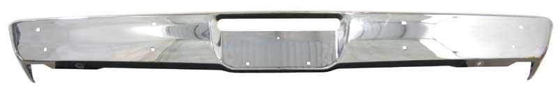 1970-1971 Duster Premium Quality Front Bumper (w/o Jack Slots)