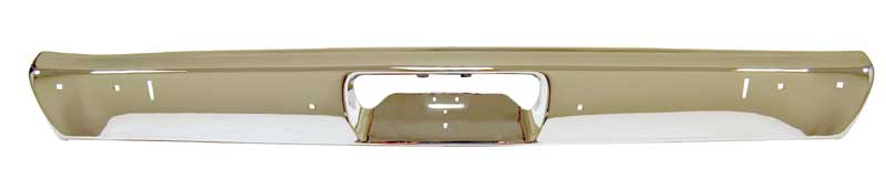 1971-1972 Demon Premium Quality Rear Bumper (w/Jack Slots)