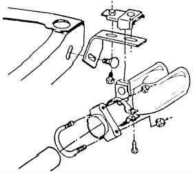 1970-1971 gto exhaust extensions and hardware kit