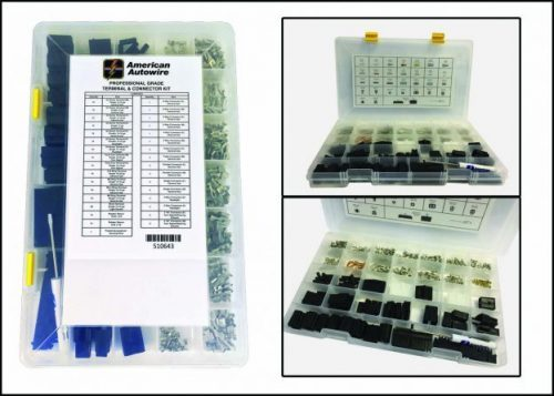 Professional Grade Terminal & Connector Kit - 250Pc
