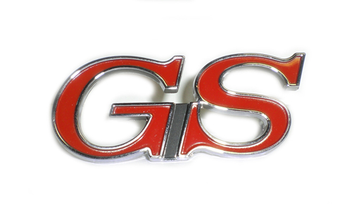 "1968 and 1971-1972 ""GS"" Front Fender Emblem"