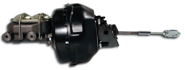 "1964-1979 GM Booster Conversion 9"" Delco  - Black"