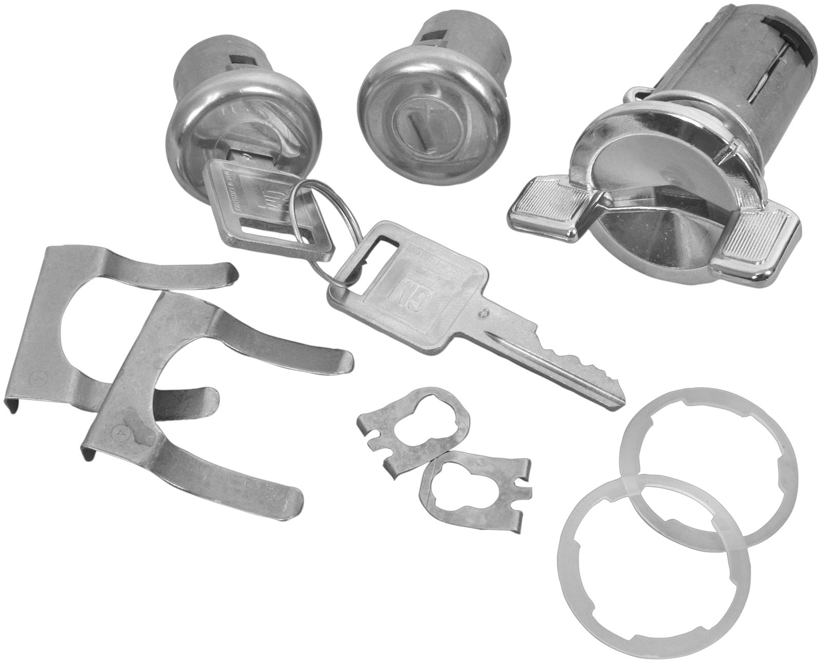 1969-1978 Ignition and Door Set CL106B
