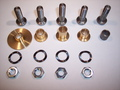 1964-1965 'A' Body (small series) Side Rail Rebuild Kit - 18PC