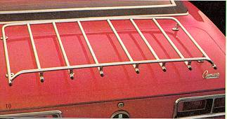 1967-1969 Trunk Lid Luggage Rack