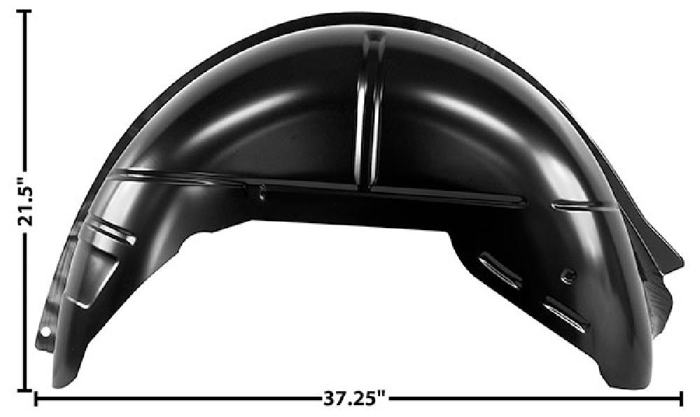 1964-1967 REAR INNER WHEEL HOUSE - RH