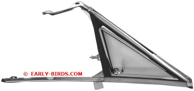 1966-1967 Vent Window Assembly - RH