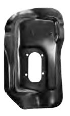 1962-1967 Floor Pan Shifter Pod (Automatic Trans)