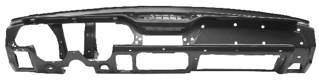 1967-1968 Dash Panel Assembly (W/Knee Pad Hole)
