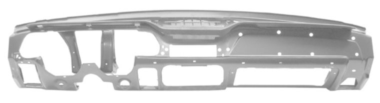 1967-1968 Dash Panel Assembly (W/Knee Pad Hole, Weld Through Primer)