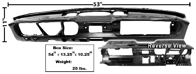 1965-1966 Dash Panel Assembly (Standard)