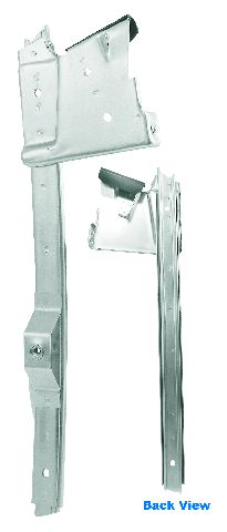 1967-1968 DOOR WINDOW GUIDE - RH