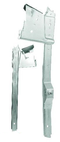 1967-1968 DOOR WINDOW GUIDE - LH