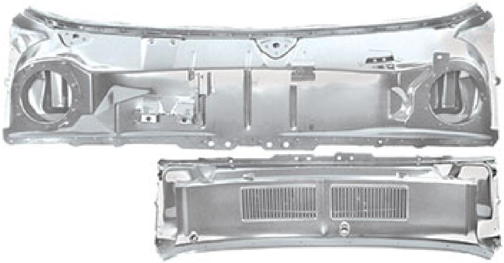 1967-1968 Cowl Panel/Grille Assembly (Weld Through Primer)