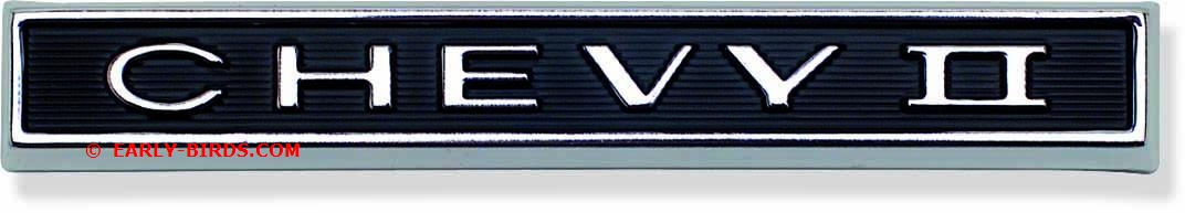 1966 Chevy II Grille Emblem