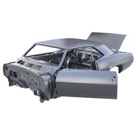 1969 Coupe Replacement Body Shell