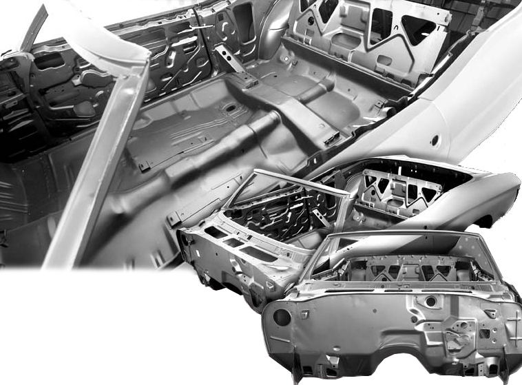 1970-1972 Convertible Replacement Body Shell