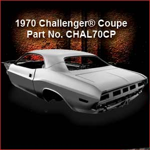 1970 Challenger Replacement Shell (Coupe)