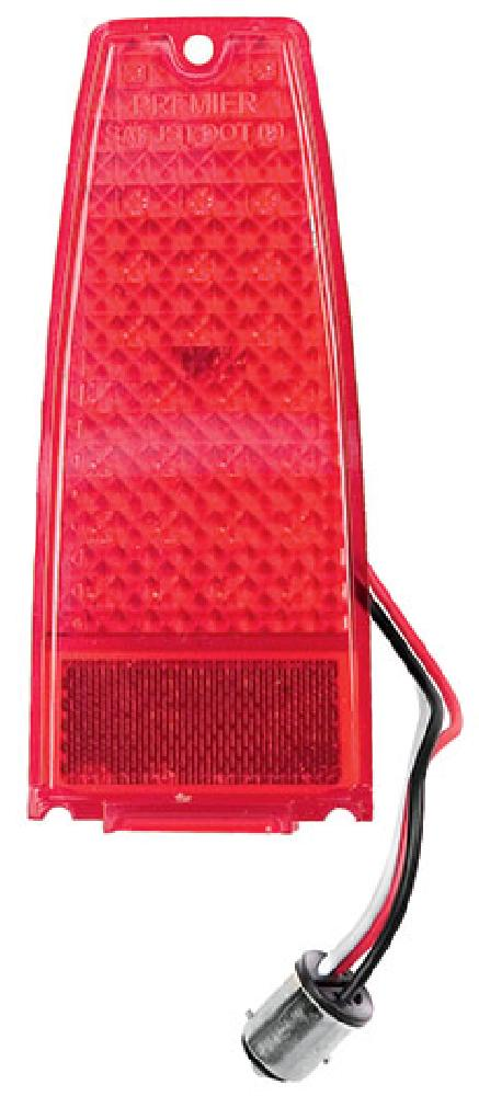 1966-1967 Tail Lamp Red (L.E.D)