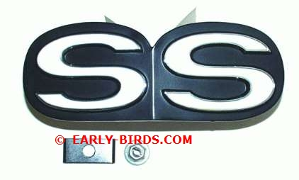 "1970-1972 Grille Emblem ""SS"" (Good Quality)"