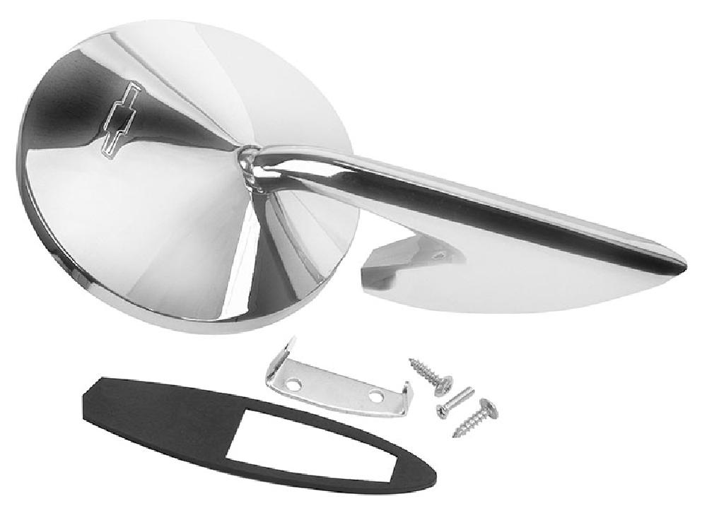 1967 Outside Door Mirror (Bow Tie) - RH