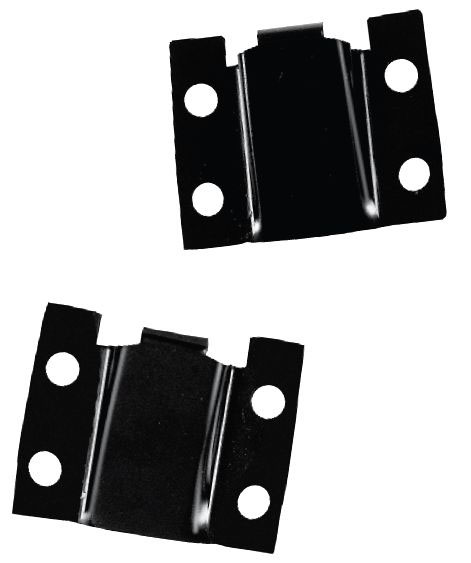 1967-1968 Rear Seat Brackets (Fastback) - PR