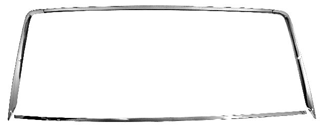 1967-1968 Rear Window Molding Set (Coupe) - 4PC