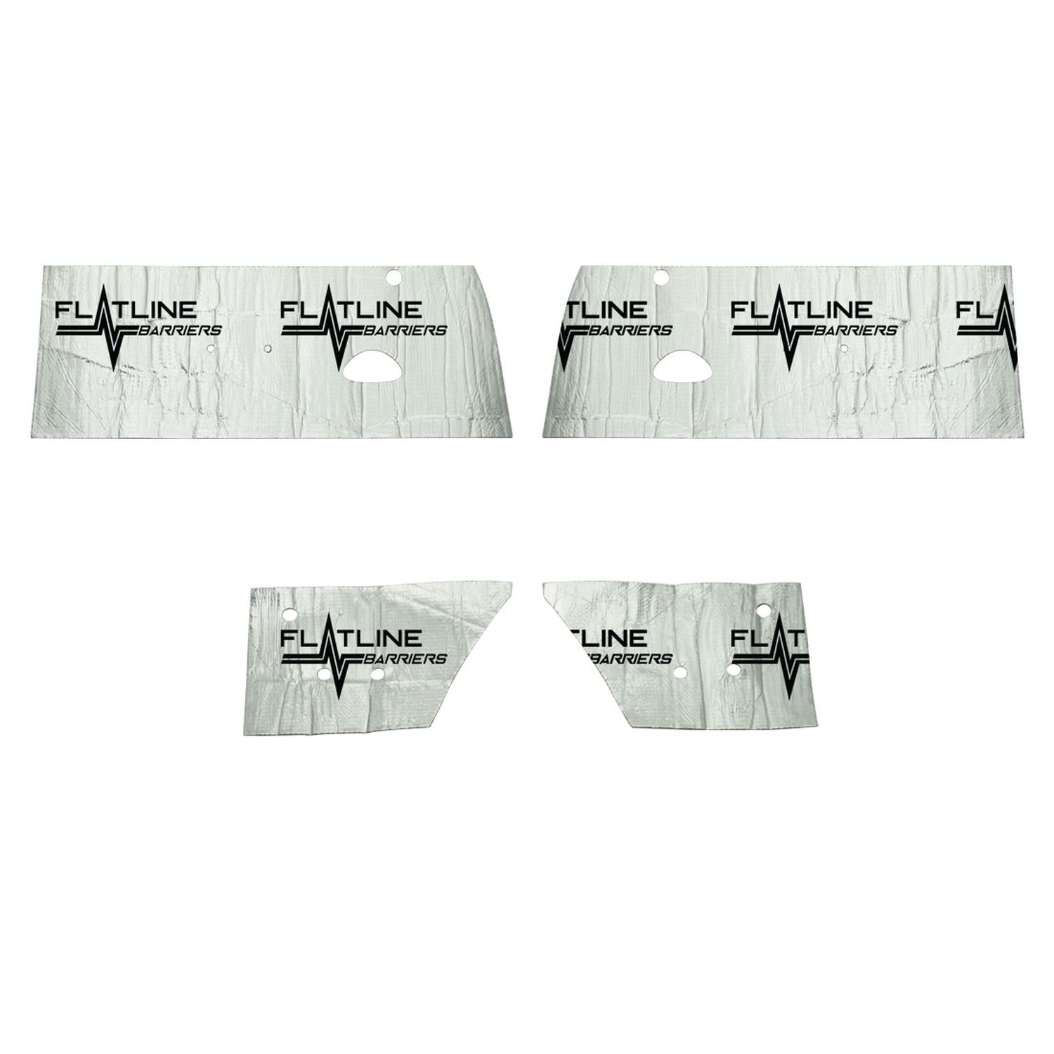 1962-1967 Nova/Chevy II Door & Inner Quarter Panel Sound Dampening Kit