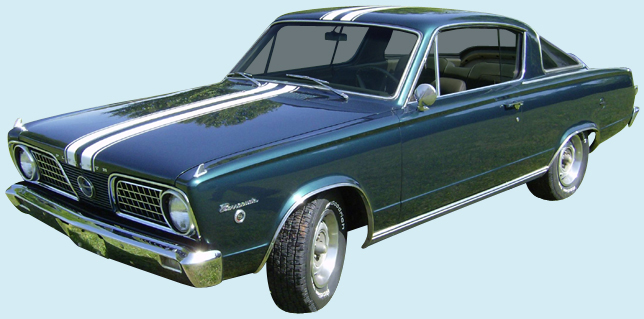 1966 Barracuda Decal Kit