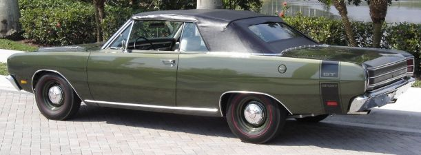 1967-1969 Convertible Top (Top Only)