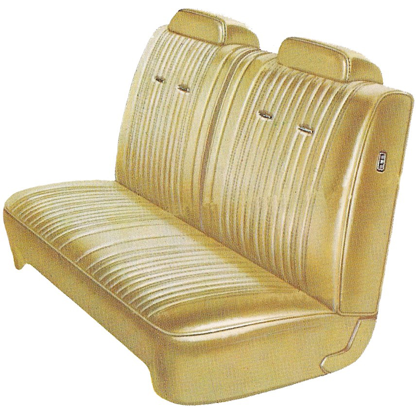 1970-1976 DUSTER Seat Covers Split Front Bench (Legendary Interiors)