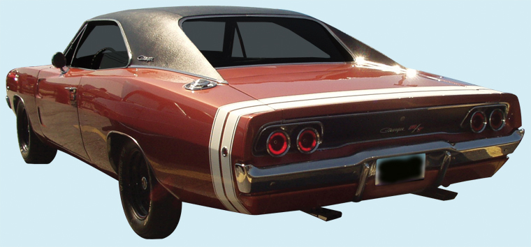 1968 Charger Bumble Bee Stripe Kit