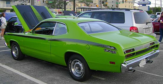 1971 1972 Plymouth Duster 340 Side Stripe Kit - 340 Connected