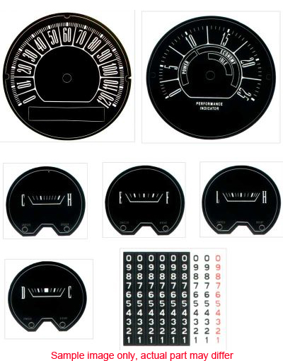 Duster/Valiant Parts - Instrument Panel & Gauges