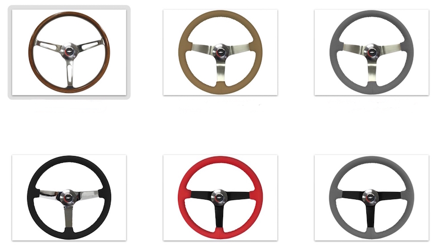 1967-1972 Sport Steering Wheel (Deluxe Kit)