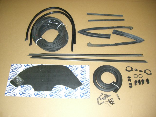 1968 El Camino Weatherstrip Kit