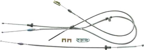 1966-1970 Parking Brake Cable (W/O Intermediate Cable) - Set