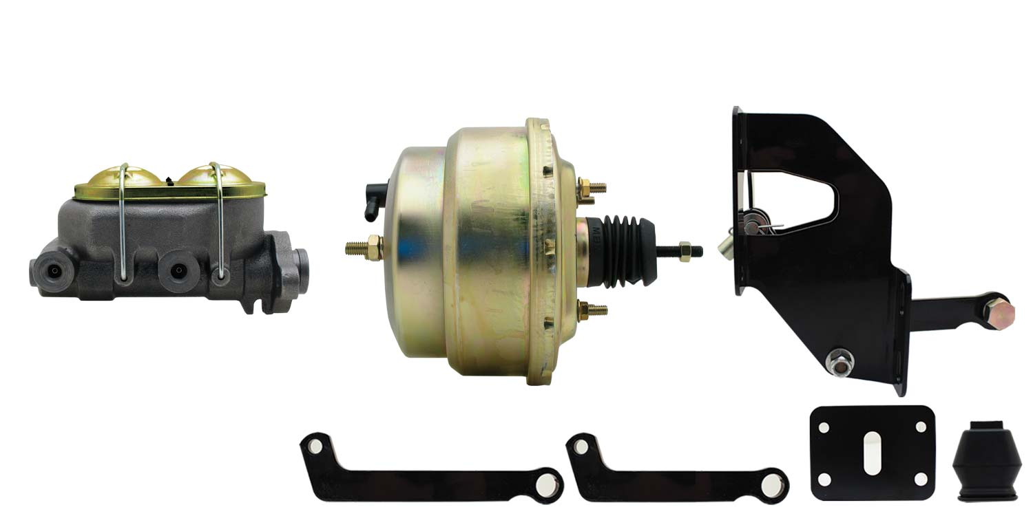 1967-1972 Power Brake Booster Conversion Kit, Disc/Drum applications
