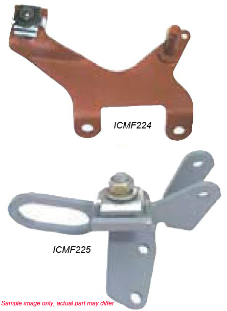 1967-1974 Throttle Cable Mounting Brackets