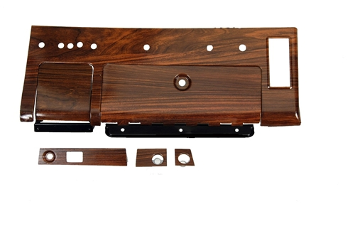 1969 Dash & Instrument Panel Set (Rosewood) - 6Pc