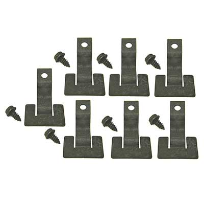 1969-1970 Mustang Lower Windshield Molding Retainer Clip  Set - 7Pc
