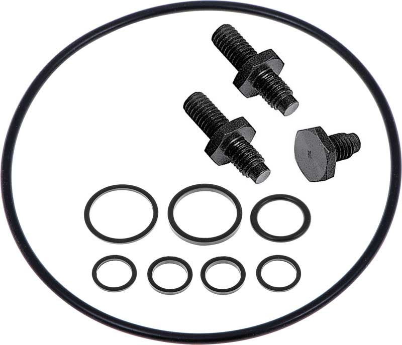 1967-1976 Power Steering Pump Reservoir Installation Kit (Saginaw)