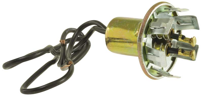 "1971-1976 Tail Lamp Socket (for 1-1/8"" Hole)"