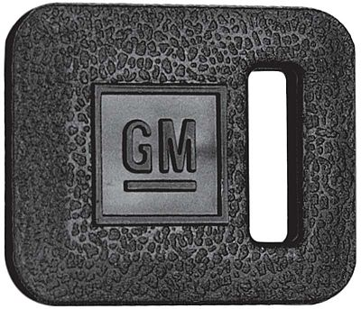 1969-1974 Black Square GM Ignition Key Cover